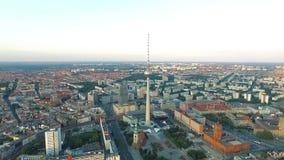 Τηλεοπτικός πύργος berna απόθεμα βίντεο