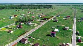 Τηλεοπτικό ROM φ το ύψος της τακτοποίησης εξοχικών σπιτιών της Αγία Πετρούπολης και της περιοχής του Λένινγκραντ απόθεμα βίντεο