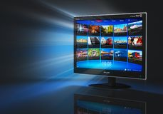 τηλεπικοινωνίες Διαδικτύου έννοιας Στοκ Εικόνες