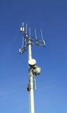 τηλεπικοινωνίες κεραιώ&n Στοκ εικόνες με δικαίωμα ελεύθερης χρήσης