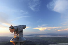 τηλεσκοπική όψη Στοκ φωτογραφίες με δικαίωμα ελεύθερης χρήσης