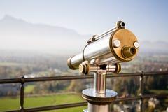 τηλεσκόπιο τοπίων Στοκ Εικόνα