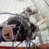 τηλεσκόπιο Στοκ φωτογραφίες με δικαίωμα ελεύθερης χρήσης