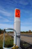 τηλεφωνική άκρη του δρόμο&up Στοκ Εικόνα
