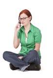 τηλεφωνική αντίδραση στοκ φωτογραφίες με δικαίωμα ελεύθερης χρήσης