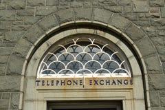 Τηλεφωνική ανταλλαγή. στοκ εικόνα με δικαίωμα ελεύθερης χρήσης