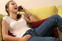 τηλεφωνική ομιλία στοκ φωτογραφία με δικαίωμα ελεύθερης χρήσης