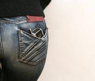τηλεφωνική τσέπη Στοκ εικόνες με δικαίωμα ελεύθερης χρήσης