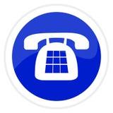 τηλεφωνικός Ιστός κουμπ&io Στοκ εικόνες με δικαίωμα ελεύθερης χρήσης