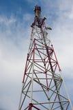 τηλεφωνικός πύργος κυττά&r Στοκ Φωτογραφίες