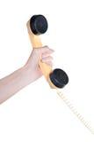 τηλεφωνικός σωλήνας Στοκ φωτογραφία με δικαίωμα ελεύθερης χρήσης