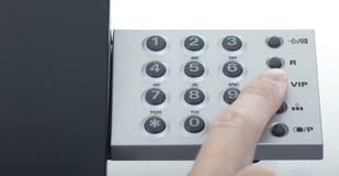 τηλεφωνικός VIP κλήσης Στοκ Φωτογραφία