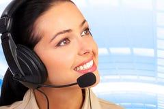 τηλεφωνικό κέντρο πρακτόρ&omega Στοκ φωτογραφία με δικαίωμα ελεύθερης χρήσης
