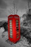 Τηλεφωνικό κιβώτιο Snowey στα αναγνωριστικά σήματα Breacon στοκ φωτογραφία με δικαίωμα ελεύθερης χρήσης
