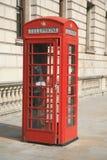 τηλεφωνικό κόκκινο θαλάμ&om Στοκ Εικόνα