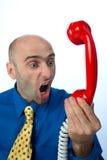 τηλεφωνικό κόκκινο Στοκ φωτογραφίες με δικαίωμα ελεύθερης χρήσης