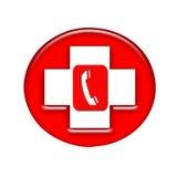 τηλεφωνικό κόκκινο στοκ φωτογραφία