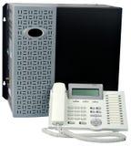 τηλεφωνικό λευκό τηλεφ&omeg στοκ φωτογραφία με δικαίωμα ελεύθερης χρήσης