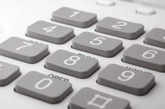Τηλεφωνικό πληκτρολόγιο Στοκ εικόνα με δικαίωμα ελεύθερης χρήσης