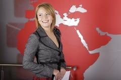 τηλεόραση δημοσιογράφων  Στοκ φωτογραφία με δικαίωμα ελεύθερης χρήσης