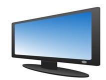 τηλεόραση πλάσματος Διανυσματική απεικόνιση