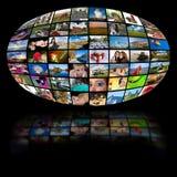 τηλεόραση τεχνολογίας π Στοκ Εικόνες