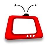 τηλεόραση Στοκ εικόνα με δικαίωμα ελεύθερης χρήσης