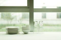 Την προηγούμενη μέρα τα παράθυρα καθαρίζουν την εικόνα εργαλείων Στοκ Εικόνα