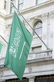 της Αραβίας διαθέσιμο σημαιών διάνυσμα ύφους γυαλιού σαουδικό Στοκ φωτογραφία με δικαίωμα ελεύθερης χρήσης