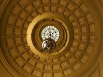 της Βαρκελώνης ceiling de franca σταθμό& στοκ φωτογραφίες