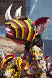 Της Βενεζουέλας χορεύοντας διάβολοι της άυλης πολιτισμικής κληρονομιάς της ΟΥΝΕΣΚΟ Naiguata Στοκ φωτογραφίες με δικαίωμα ελεύθερης χρήσης