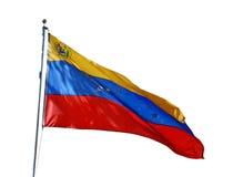 Της Βενεζουέλας εθνική σημαία Στοκ φωτογραφίες με δικαίωμα ελεύθερης χρήσης