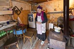 Της Γεωργίας ηλικιωμένη γυναίκα στοκ φωτογραφία με δικαίωμα ελεύθερης χρήσης