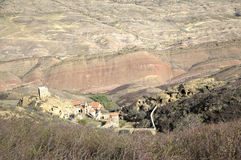 Της Γεωργίας ορθόδοξο μοναστήρι ο σύνθετος Δαβίδ Gareja Στοκ φωτογραφία με δικαίωμα ελεύθερης χρήσης