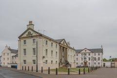 Της Γεωργίας ορισμένα κτήρια στο λιμάνι Redevelopement Irvine Σκωτία Irvine θέσεων Gottries στοκ φωτογραφίες με δικαίωμα ελεύθερης χρήσης