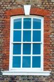 Της Γεωργίας παράθυρα ζωνών με τη βάση Στοκ Εικόνες