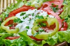 Της Γεωργίας φυτική σαλάτα στοκ εικόνες