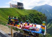 Της Γεωργίας Churchkhela και μέλι στοκ φωτογραφία με δικαίωμα ελεύθερης χρήσης