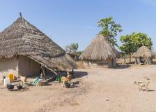 Της Γκάμπια χωριό στοκ εικόνα με δικαίωμα ελεύθερης χρήσης
