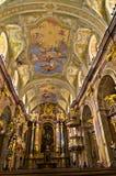 Της εσωτερικής Anna kirche, όμορφη μικρή μπαρόκ εκκλησία στη Βιέννη κεντρικός Στοκ εικόνα με δικαίωμα ελεύθερης χρήσης