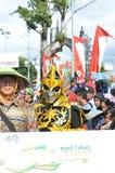 Της Ιάβας τέχνες και παρέλαση πολιτισμού σε Batang στοκ εικόνες με δικαίωμα ελεύθερης χρήσης