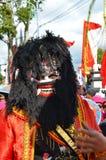 Της Ιάβας τέχνες και παρέλαση πολιτισμού σε Batang στοκ φωτογραφία με δικαίωμα ελεύθερης χρήσης