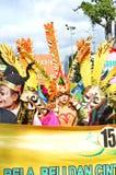 Της Ιάβας τέχνες και παρέλαση πολιτισμού σε Batang στοκ εικόνα