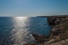 Της Κριμαίας ακτή Στοκ εικόνες με δικαίωμα ελεύθερης χρήσης