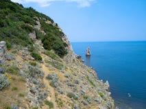 Της Κριμαίας ακτή Στοκ Φωτογραφία