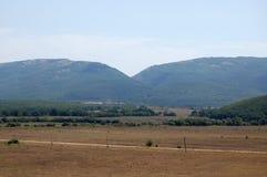 Της Κριμαίας βουνά Στοκ εικόνα με δικαίωμα ελεύθερης χρήσης