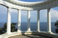Της Κριμαίας φύση Rotunda στην πορεία τσάρων Στοκ φωτογραφίες με δικαίωμα ελεύθερης χρήσης