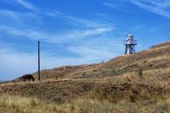 της Κριμαίας dag kara ακτίνα βουνών τοπίων ελαφριά Στοκ εικόνα με δικαίωμα ελεύθερης χρήσης