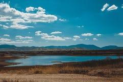 της Κριμαίας dag kara ακτίνα βουνών τοπίων ελαφριά Στοκ φωτογραφία με δικαίωμα ελεύθερης χρήσης