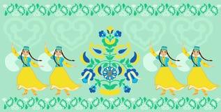Της Κριμαίας Tatar χορός Στοκ Φωτογραφία